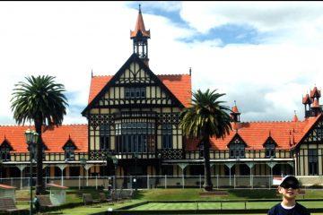 Family Travel Rotorua Geothermal Area