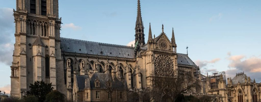 How am I inspired by the Notre Dame fire
