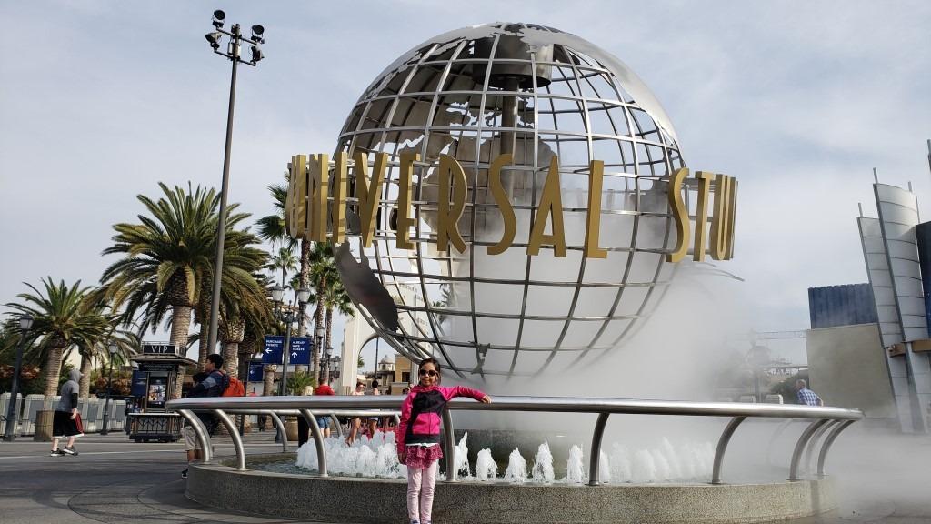 Cady at Universal Studios, CA