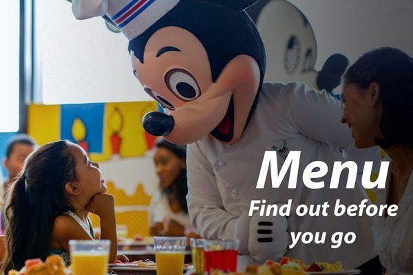 End Zone Food Court menus at Disney's All-Star Sports Resort
