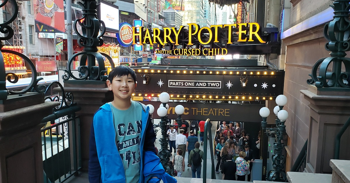 Day 4: Harry Potter Broadway Play and Times Square
