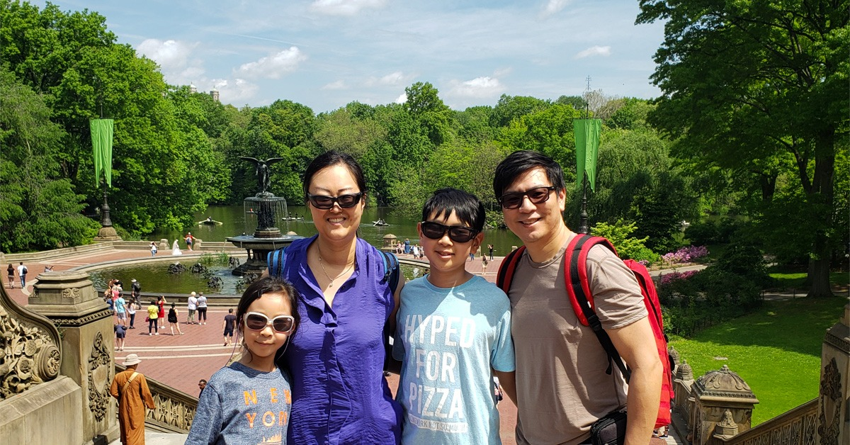 Our Family Travel to Central Park NYC