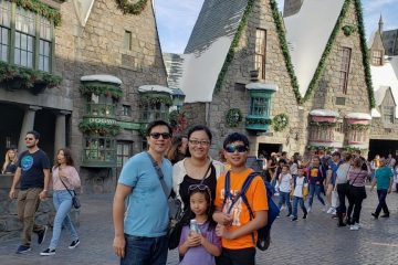 Universal Studios Hollywood Family Trip