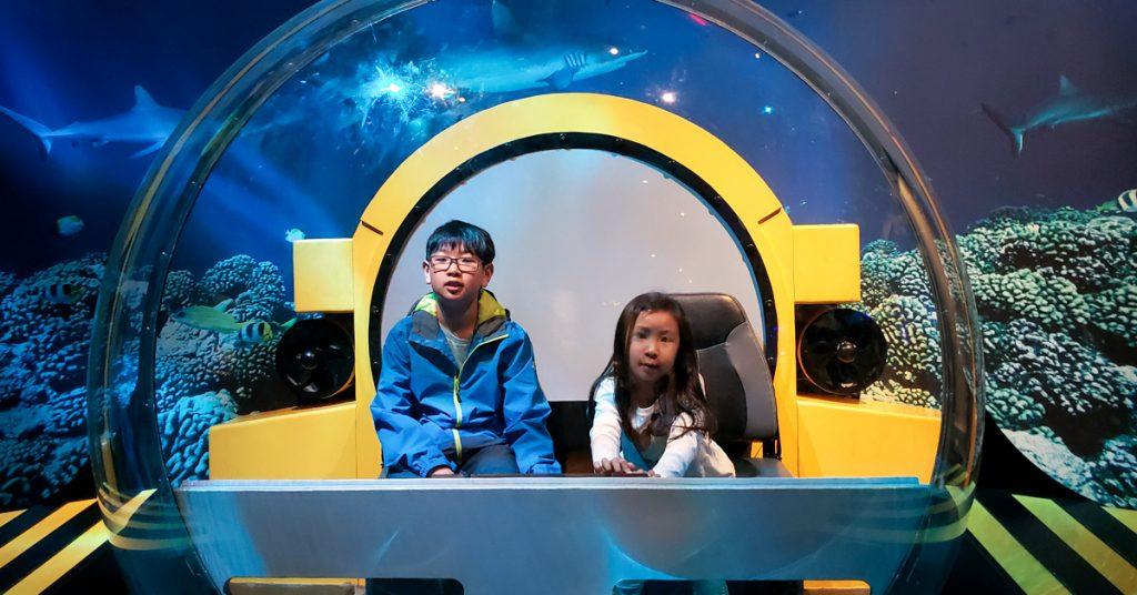 AMNH Triton submersible explorers