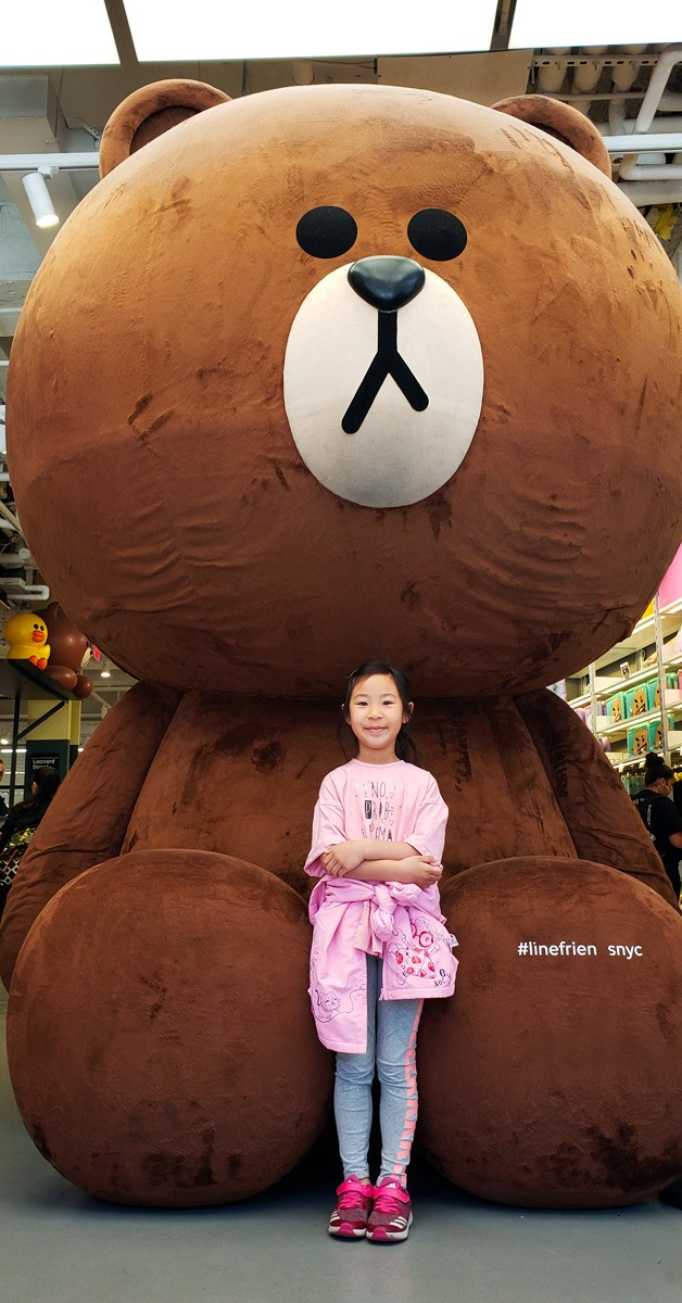 Huge Brown at Line Friends