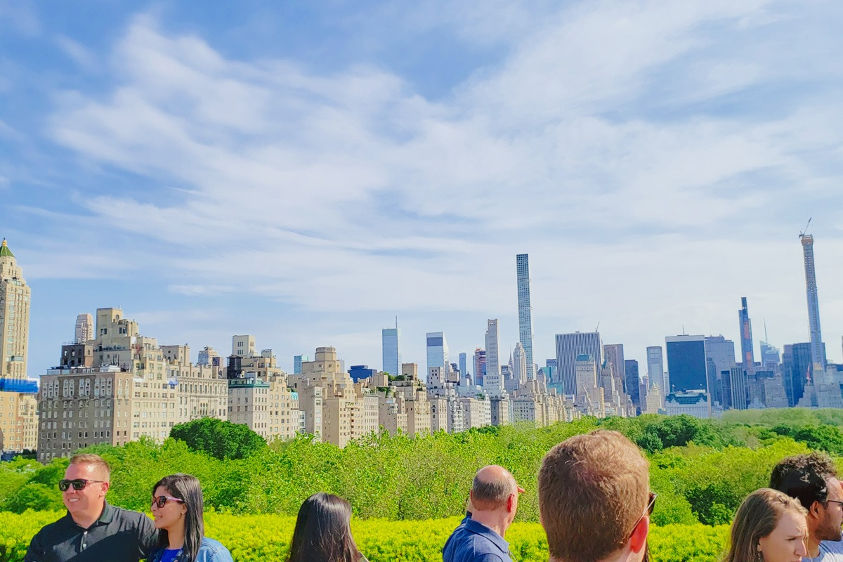 new-york-skyline-from-rooftop at the met museum