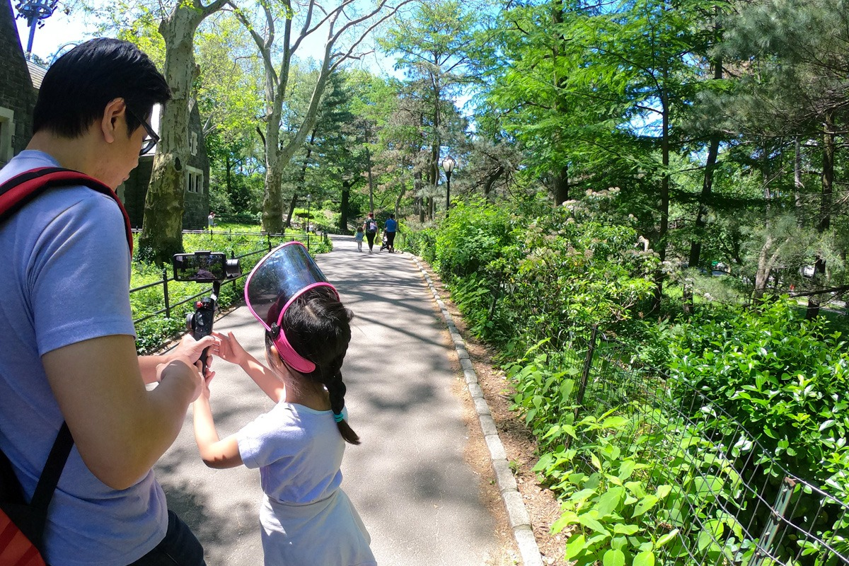 using-go-pro-central-park