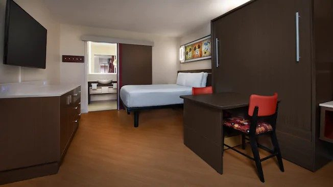 Disney's All-Star Movies Resort refurbished rooms