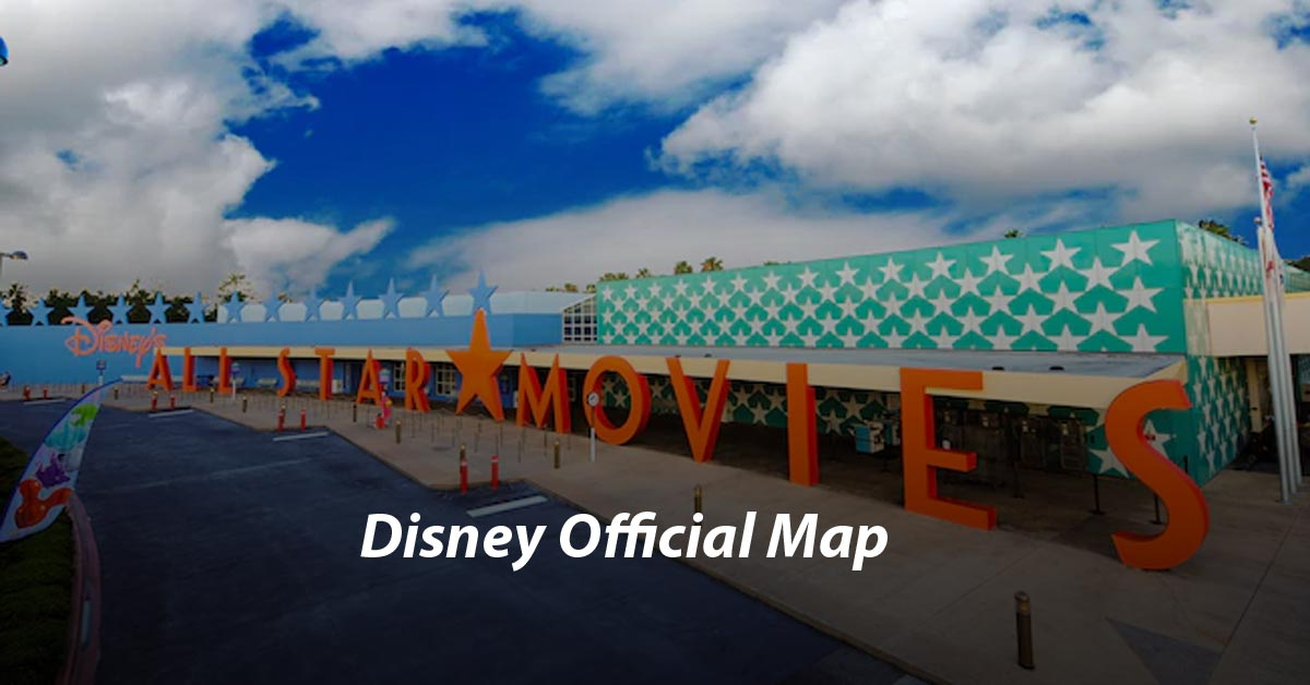 Disney's All-Star Movies Resort Map