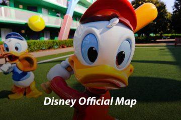 All-Star Sports Resort Map