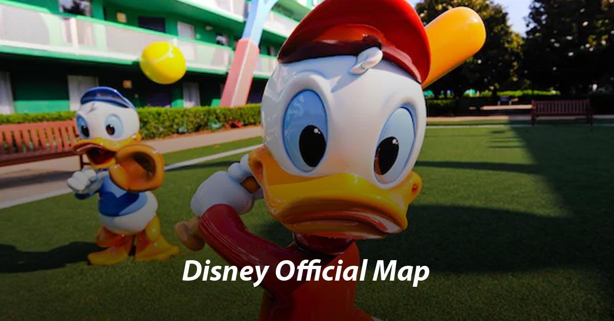 Disney's All-Star Sports Resort Map