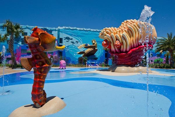 Kiddie Pool at Art of Animation Resort