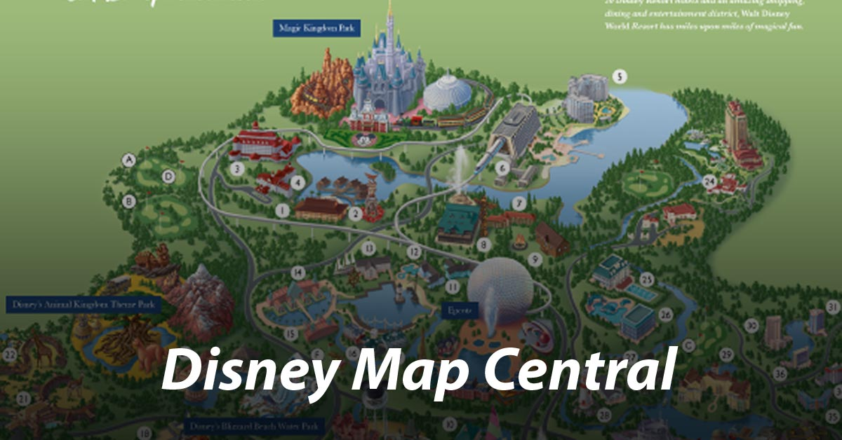 Disney World and other Disney map central
