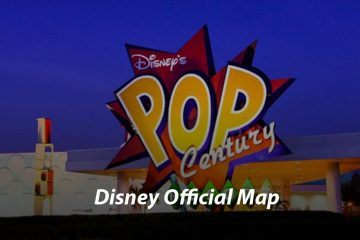 Disney's Pop Century Resort Map