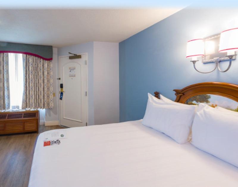 Refurbished room at Port Orleans Riverside Resort