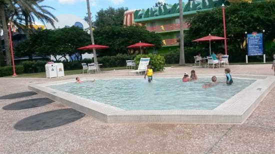 Kiddie pool at All-Star Music Resort