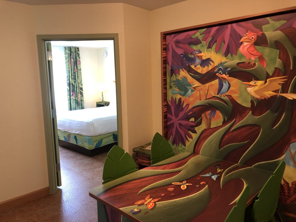 Refurbished Lion King Family Suite at Art of Animation Resort