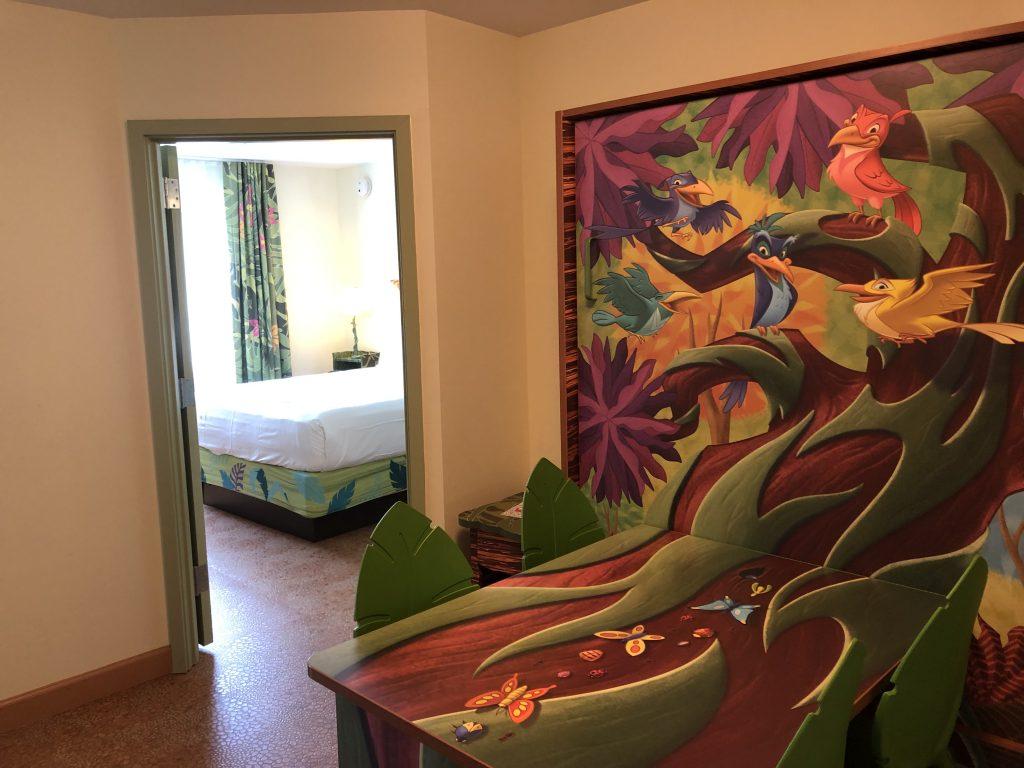 Refurbished Lion King Family Suite at Art of Animation Resort