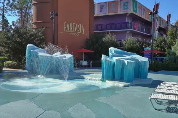 Kiddie Pool at All-Star Movies Resort