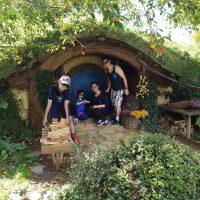 Family Travel Hobbiton New Zealand